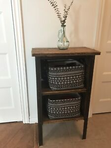 Antique / Rustic Nightstand or End Table