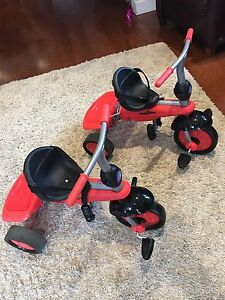 2 Smartrike tricycles