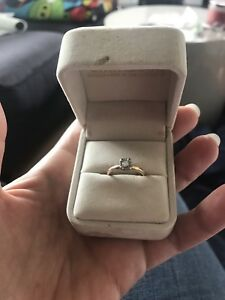 Woman's ring 14kt/18kt
