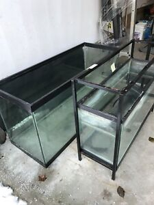 Fish tanks with stands. Reduced to sell