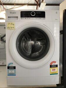Whirlpool 6th sense 7.5kg Washing Machine / 24 Month Warranty clw22