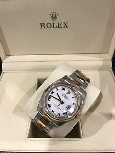 Rolex Datejust Twotone Rose Gold Norwood Norwood Area Preview