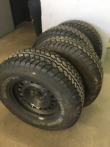 255/70r16 winter Tires/Rims, like new