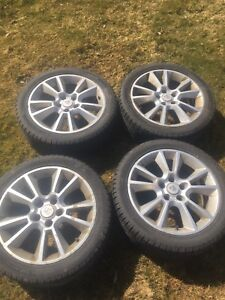 Summer Tires with rims 225/45/R17