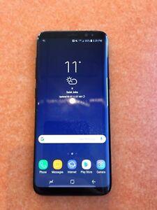 Samsung S8 64GB unlocked 8 months old