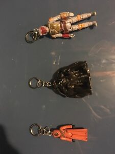 3 collectable key chains