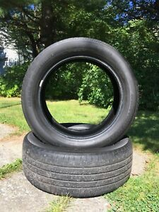 2 Continental Cross Contact Tires 235/55r19