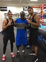 TOP RANK BOXER AS YOUR TRAINER