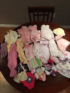 New Born Baby Girls Clothes ( Full Bag)