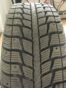 Studded winter tires. (225/60 R17)