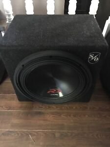 "12"" 3000 watt alpine type r subwoofer."