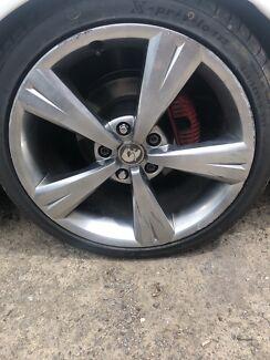 Genuine vx gts wheels Newcastle Newcastle Area Preview