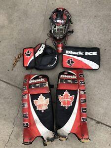 Road hockey gear