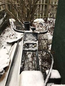Older snow blower