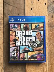 GTA 5 PS4. Grand theft auto 5.