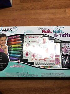 Brand new Alex spa ultimate nail, hair, tattoo studio kit!