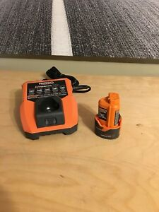 Ridgid Battery with charger