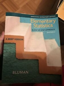Elementary statistics a step-by-step approach sixth edition
