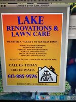 Lake Renovations & Lawn Care