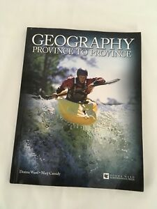 Homeschool- Geography Province by Province by Donna Ward $20