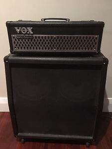 Vox valvetronic 100w head and Marshall cabinet Bassendean Bassendean Area Preview