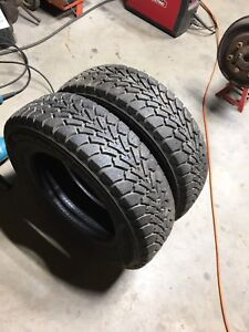 Two GoodYear Nordic 175/70R14