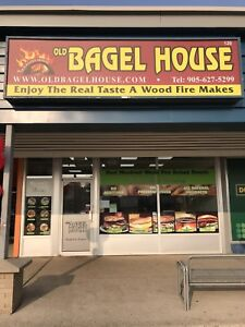 Old Bagel House Now Hiring !! Near McMaster University