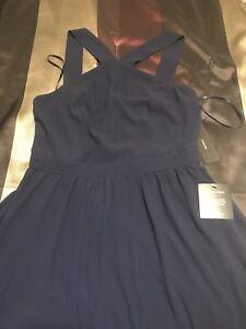 2 bridesmaids dresses, different sizes