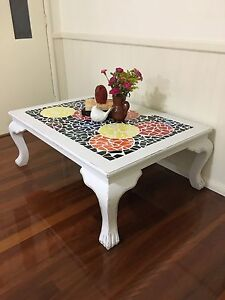 Large mosaic coffee table Lambton Newcastle Area Preview