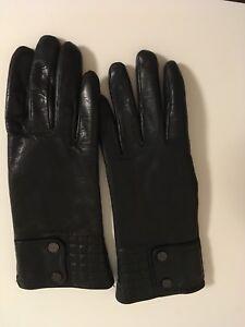 Gants noir rudsak avec fourrure