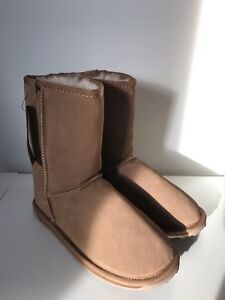 NEW EMU Sz 36 Brown Chestnut Sheepskin Boots