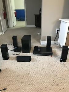 5 Channel Panasonic surround sound system
