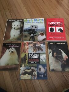 Dog books for sale