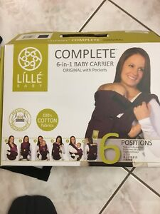 Lille 6 in 1 baby carry