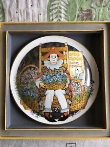 """Royal Doulton """"Behind the Painted Mask"""" Plate"""