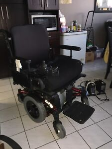 Invacare electric power wheel chair