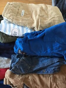 22 pairs of baby boy pants size 3-6 months