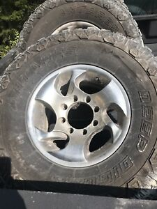 """8 bolt rims and 35"""" tires"""