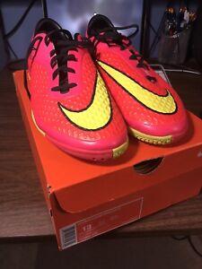 Nike Hypervenom indoor soccer shoes. Brand new. Size 13