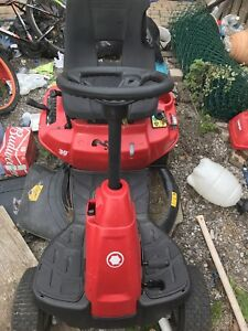 Troy built 30 inch blade riding lawnmower