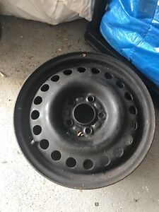 """4 15"""" Steel Rims for Ford. 5x108 bolt pattern."""