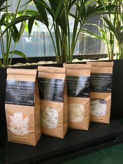 Organic Bath Salt Blends 500g