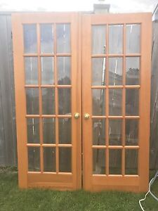 French Doors 125$ Firm Must Sell!!
