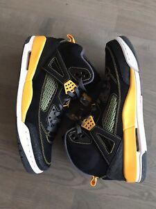 designer fashion 18f44 88fea Nike Jordan Spizike University Yellow size 11