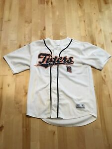 Detroit Tigers authentic baseball jersey L