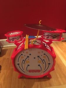 Drumset Fisher price