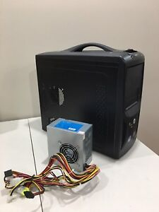 Apex Micro ATX Computer Case with 400W Power Supply