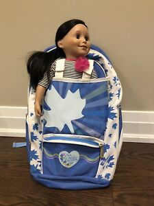 American or Canadian Girl Backpack for Girls