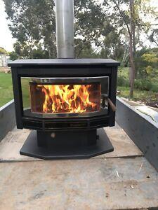 Terrific Wood Heater In Victoria Home Garden Gumtree Australia Home Interior And Landscaping Ologienasavecom