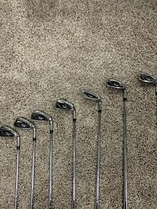 Taylormade M4 irons 5-AW stiff right hand